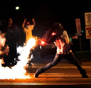Blacks burn Ferguson, Missouri: Now the hypnosis is beginning to wear off, as reality becomes too harsh to ignore.